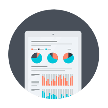SEO consultants analyze data for performance tweaks